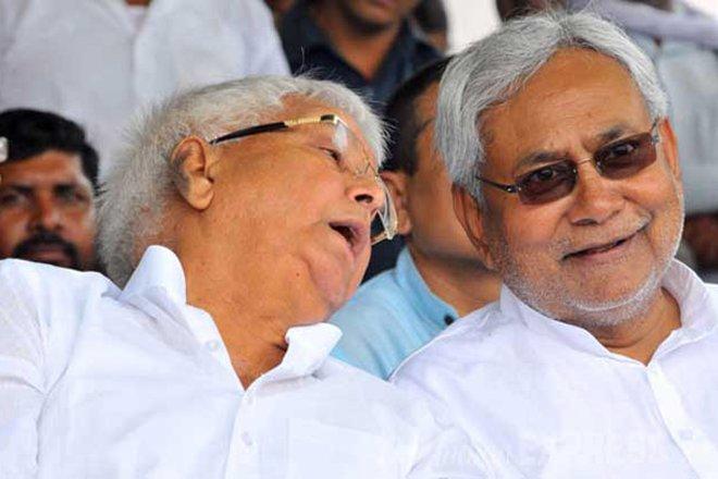 Lalu Prasad Yadav and Nitish Kumar, Sanjeev Nanda