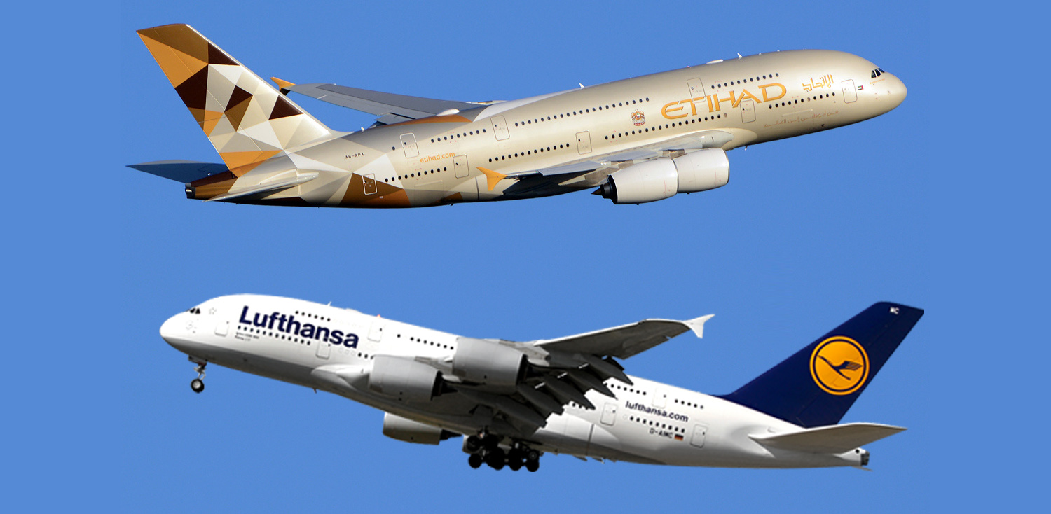 Etihad and Lufthansa Eyeing for a Merger coverage by Sanjeev Nanda